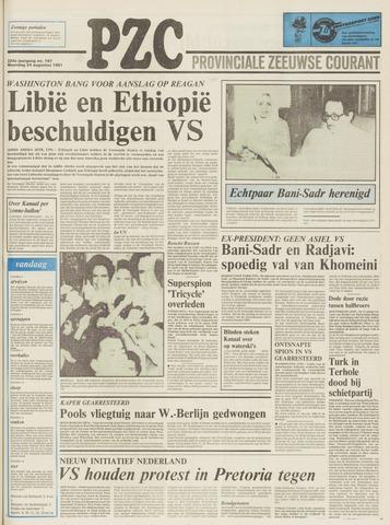 Provinciale Zeeuwse Courant 1981-08-24