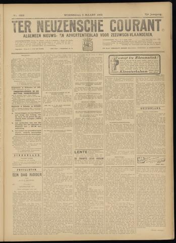 Ter Neuzensche Courant. Algemeen Nieuws- en Advertentieblad voor Zeeuwsch-Vlaanderen / Neuzensche Courant ... (idem) / (Algemeen) nieuws en advertentieblad voor Zeeuwsch-Vlaanderen 1932-03-09
