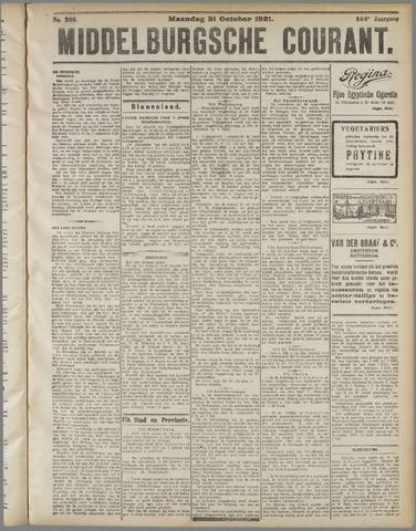 Middelburgsche Courant 1921-10-31
