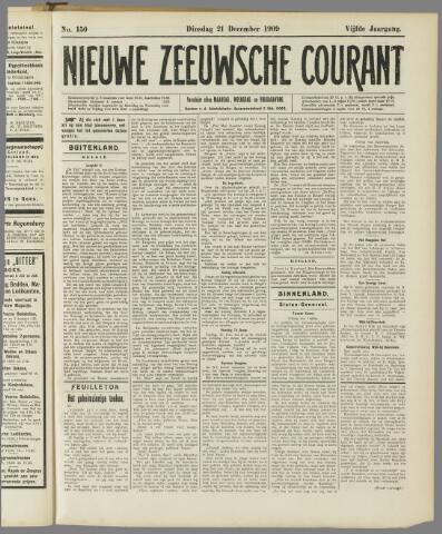 Nieuwe Zeeuwsche Courant 1909-12-21