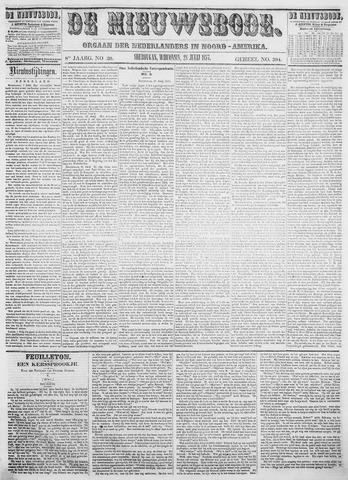 Sheboygan Nieuwsbode 1857-07-28