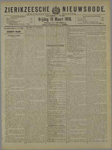 Zierikzeesche Nieuwsbode 1916-03-10