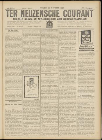 Ter Neuzensche Courant. Algemeen Nieuws- en Advertentieblad voor Zeeuwsch-Vlaanderen / Neuzensche Courant ... (idem) / (Algemeen) nieuws en advertentieblad voor Zeeuwsch-Vlaanderen 1937-10-22