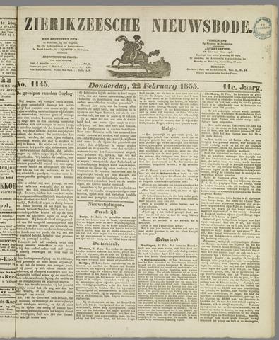 Zierikzeesche Nieuwsbode 1855-02-22