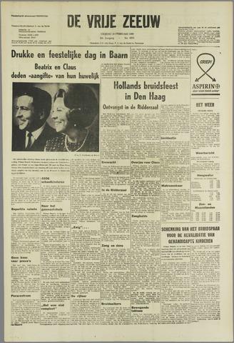 de Vrije Zeeuw 1966-02-18