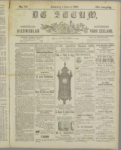 De Zeeuw. Christelijk-historisch nieuwsblad voor Zeeland 1910-01-01