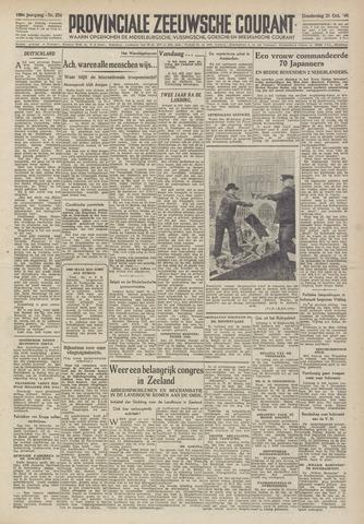 Provinciale Zeeuwse Courant 1946-10-31