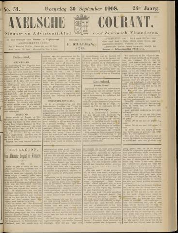 Axelsche Courant 1908-09-30