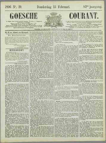Goessche Courant 1896-02-13