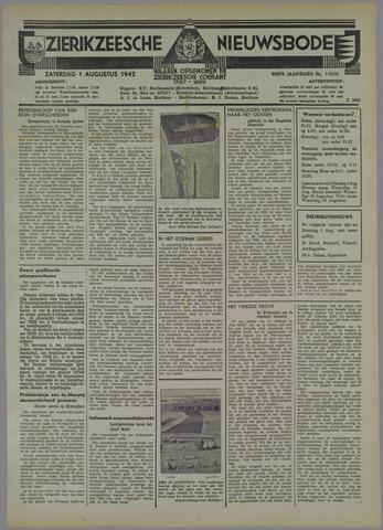 Zierikzeesche Nieuwsbode 1942-08-01