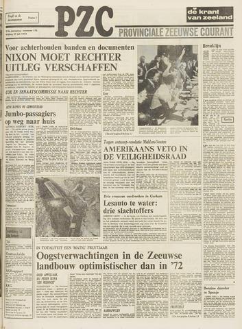 Provinciale Zeeuwse Courant 1973-07-27