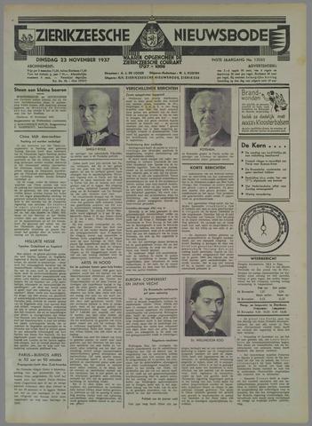 Zierikzeesche Nieuwsbode 1937-11-23