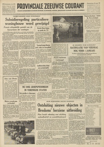 Provinciale Zeeuwse Courant 1957-09-19
