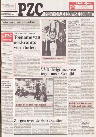 Provinciale Zeeuwse Courant 1989-01-18
