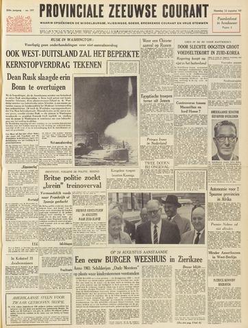 Provinciale Zeeuwse Courant 1963-08-12