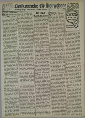 Zierikzeesche Nieuwsbode 1932-04-20