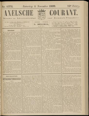 Axelsche Courant 1899-11-04