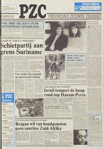 Provinciale Zeeuwse Courant 1986-07-23