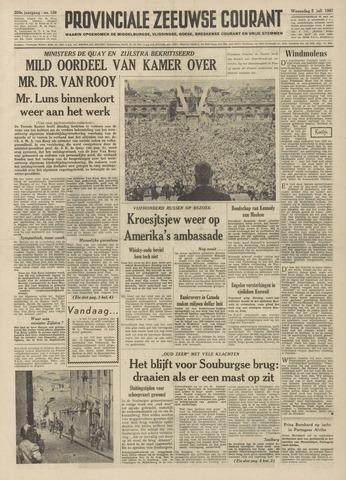 Provinciale Zeeuwse Courant 1961-07-05
