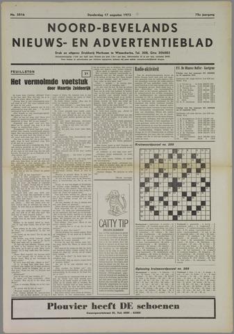 Noord-Bevelands Nieuws- en advertentieblad 1972-08-17