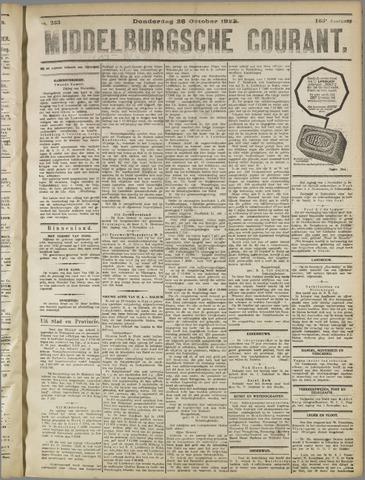Middelburgsche Courant 1922-10-26