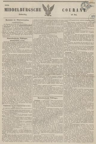 Middelburgsche Courant 1852-05-15