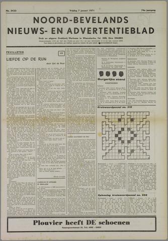 Noord-Bevelands Nieuws- en advertentieblad 1971-01-07