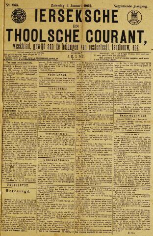 Ierseksche en Thoolsche Courant 1902-01-04
