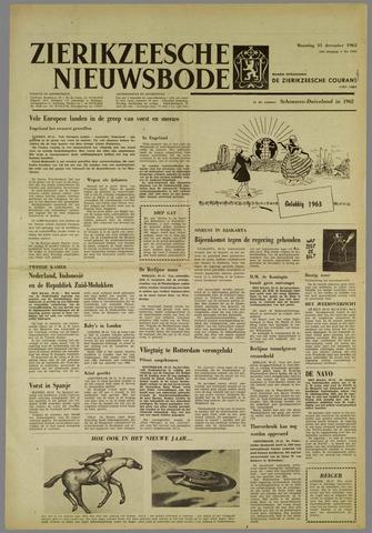 Zierikzeesche Nieuwsbode 1962-12-31