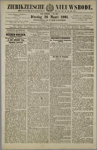 Zierikzeesche Nieuwsbode 1901-03-26