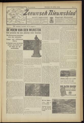 Zeeuwsch Nieuwsblad/Wegeling's Nieuwsblad 1935-04-26