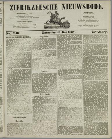 Zierikzeesche Nieuwsbode 1867-05-25