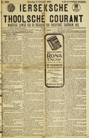 Ierseksche en Thoolsche Courant 1912-02-03