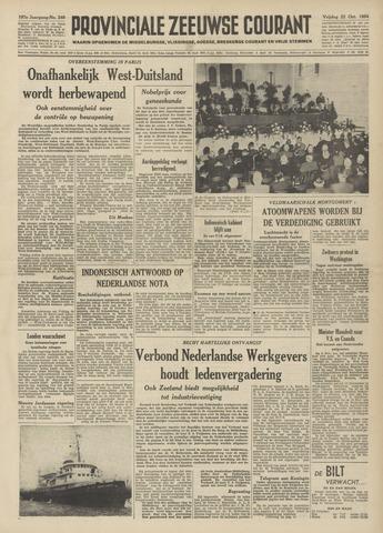 Provinciale Zeeuwse Courant 1954-10-22