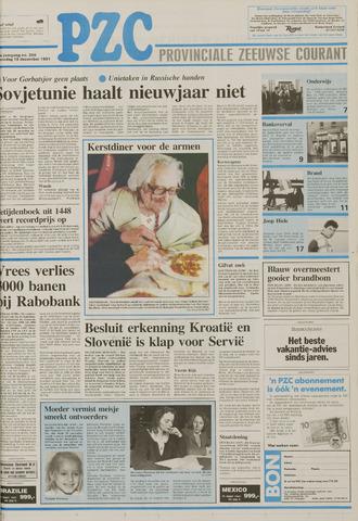 Provinciale Zeeuwse Courant 1991-12-18