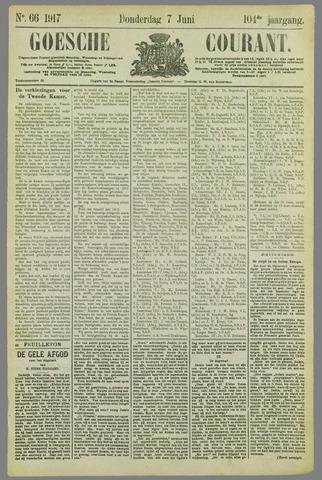 Goessche Courant 1917-06-07