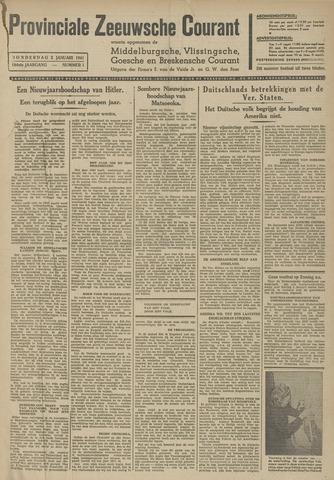 Provinciale Zeeuwse Courant 1941-01-02