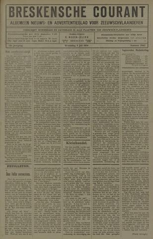 Breskensche Courant 1924-07-09