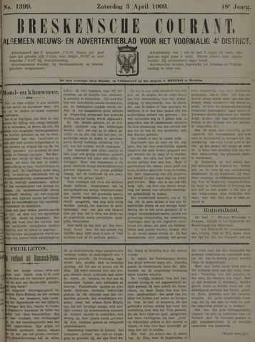 Breskensche Courant 1909-04-03