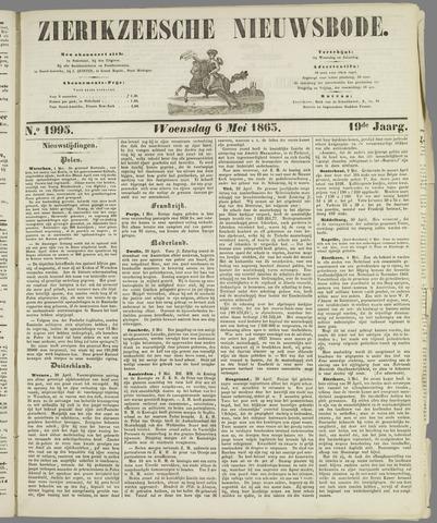 Zierikzeesche Nieuwsbode 1863-05-06