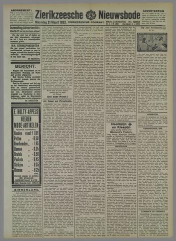 Zierikzeesche Nieuwsbode 1932-03-21