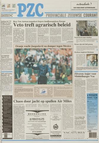Provinciale Zeeuwse Courant 1998-06-26