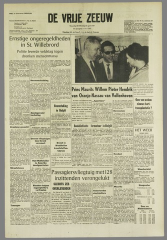 de Vrije Zeeuw 1968-04-22