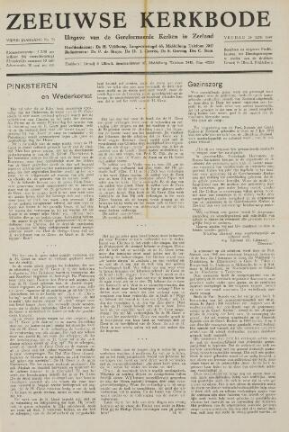 Zeeuwsche kerkbode, weekblad gewijd aan de belangen der gereformeerde kerken/ Zeeuwsch kerkblad 1949-06-24