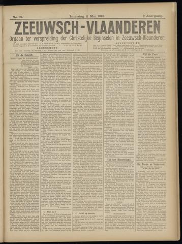 Luctor et Emergo. Antirevolutionair nieuws- en advertentieblad voor Zeeland / Zeeuwsch-Vlaanderen. Orgaan ter verspreiding van de christelijke beginselen in Zeeuwsch-Vlaanderen 1918-05-11