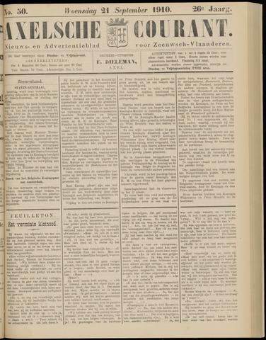Axelsche Courant 1910-09-21