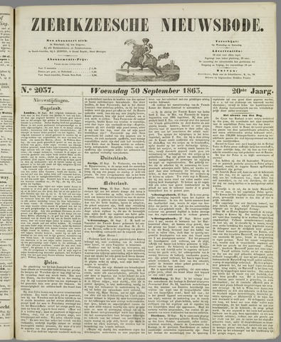 Zierikzeesche Nieuwsbode 1863-09-30