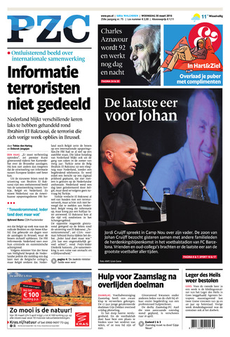 Provinciale Zeeuwse Courant 2016-03-30