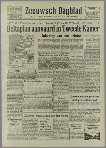Zeeuwsch Dagblad 1957-11-06