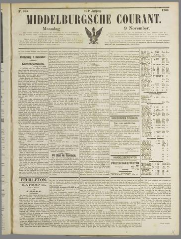 Middelburgsche Courant 1908-11-09
